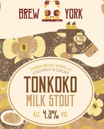 Tonkoko Milk Stout by Brew York – Craft Can Directory