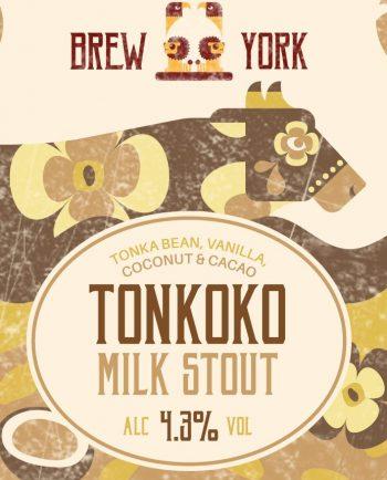 Tonkoko Milk Stout by Brew York – Craft Can Directory