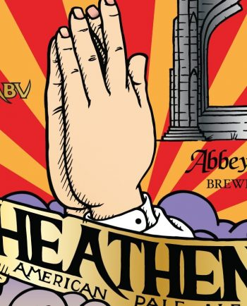 Heathen American Pale Ale by Abbey Brewery – Craft Can Directory